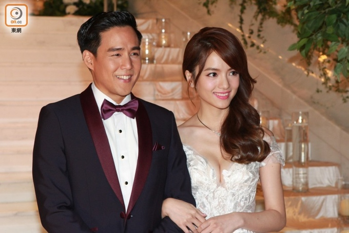 Mỹ nhân TVB kết hôn với bạn trai thiếu gia sau 4 năm
