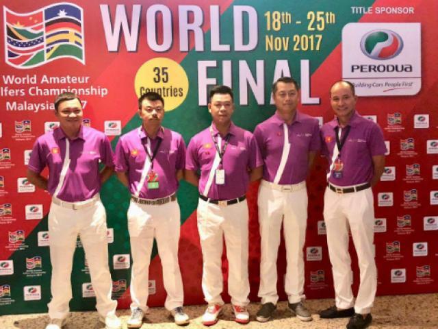 """Golfer nghiệp dư Việt Nam số 1 thế giới: Bước tiến """"chóng mặt ở giải WAGC 3"""