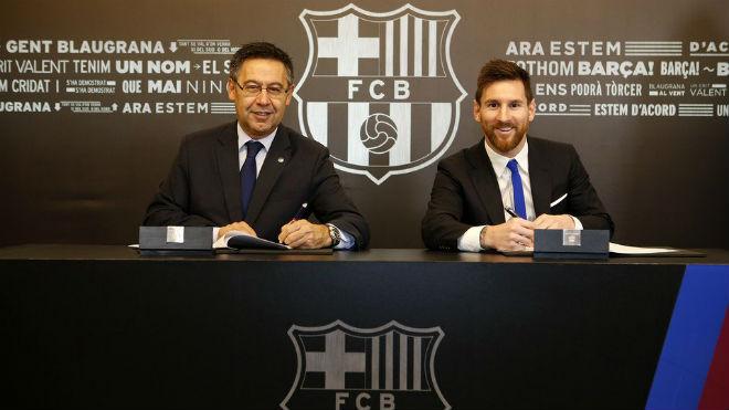 Barca: Messi kí hợp đồng 700 triệu euro, vượt Ronaldo, chờ phá 5 kỉ lục