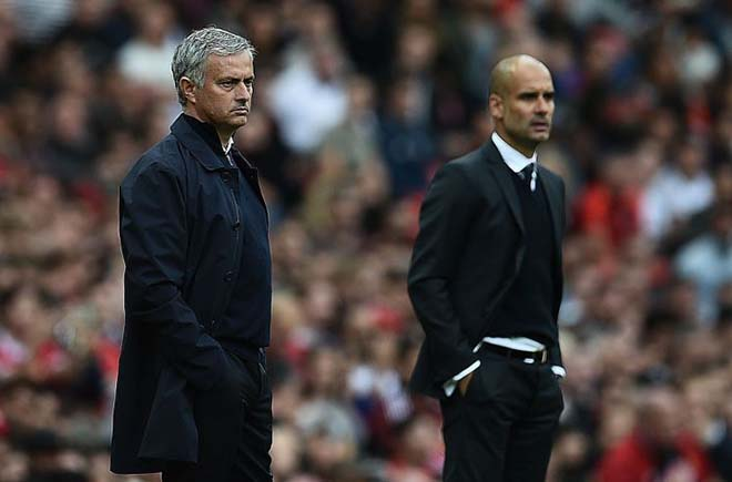 "Derby Manchester: Mourinho & Guardiola ""chơi chiêu"", MU - Man City giấu bài? 4"