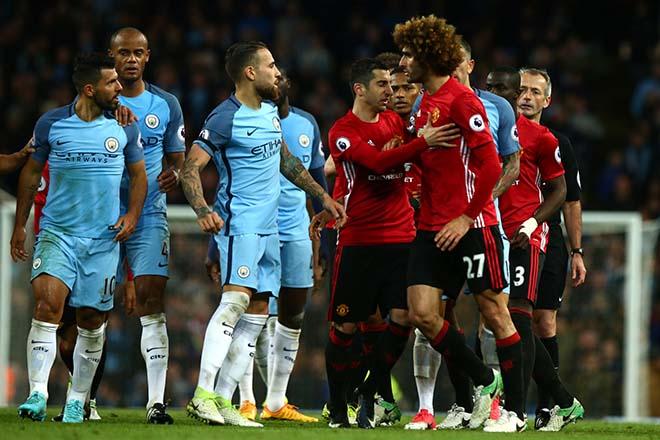 "Derby Manchester: Mourinho & Guardiola ""chơi chiêu"", MU - Man City giấu bài? 1"