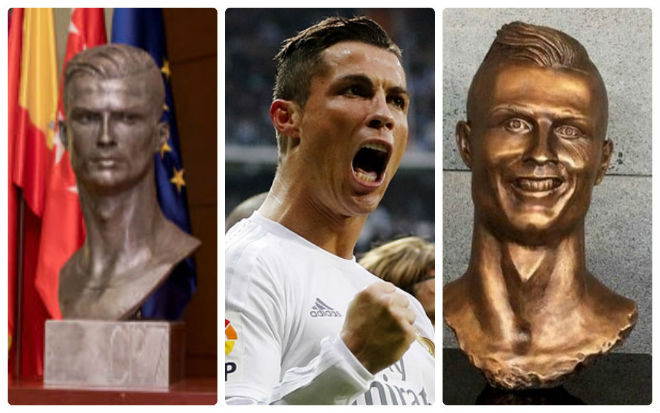 Tin HOT bóng đá sáng 27/11: Ronaldo được Real dựng tượng - 1
