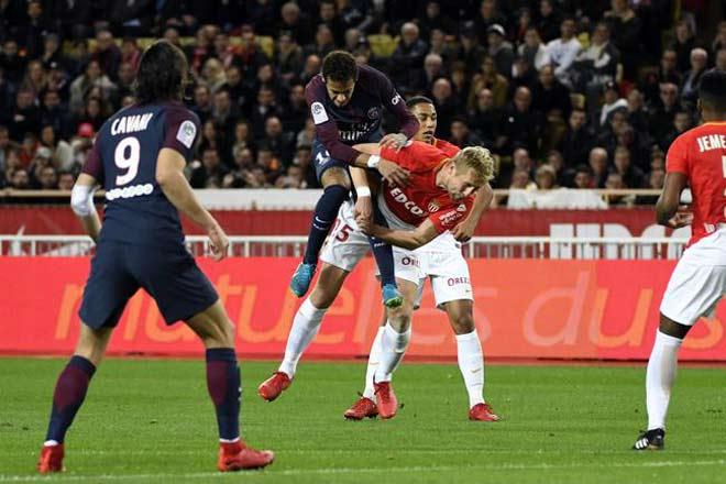 "Monaco - PSG: Cavani - Neymar ""nhảy múa"", uy lực khủng khiếp"