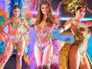 Thời trang - Trang phục dân tộc kiệm vải ở Hoa hậu Hoàn vũ