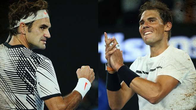 """""""2 vị thần"""" tennis thế giới 2017: Số 1, Nadal hay Federer? 1"""