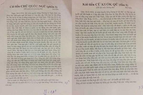 """7 vấn đề rút ra từ công trình nghiên cứu """"Tiếq Việt"""" - 2"""