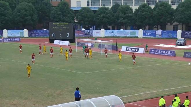 """Khó tin: Tân binh V-League """"vùi dập"""" CLB số 1 Trung Quốc"""