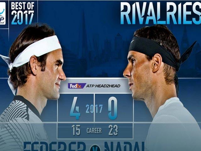 """Vì sao Federer """"hành"""" Nadal: Thắng ngay trên sở trường của địch 1"""