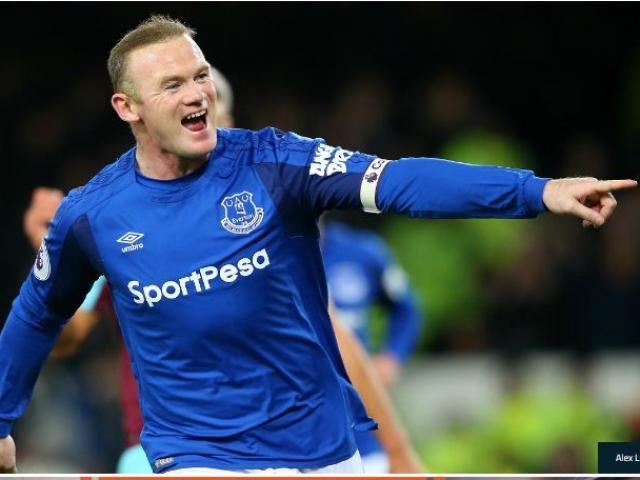 """Rooney hattrick thần sầu: David Moyes """"cạn lời"""", Everton mơ hồi sinh 4"""