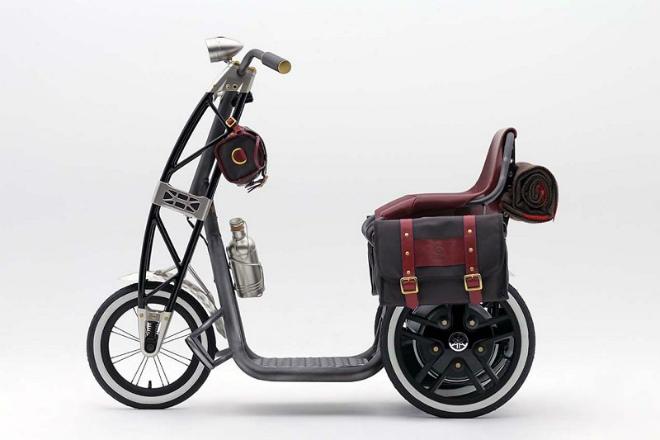 Yamaha 07GEN Concept: Xe ga điện cho quý ông - 2