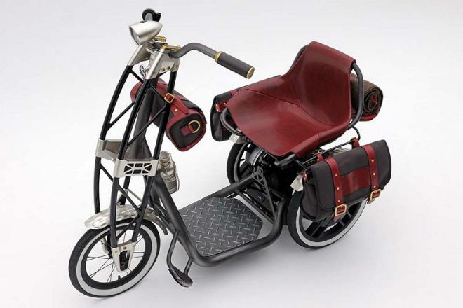 Yamaha 07GEN Concept: Xe ga điện cho quý ông - 1
