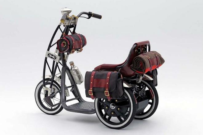 Yamaha 07GEN Concept: Xe ga điện cho quý ông - 3
