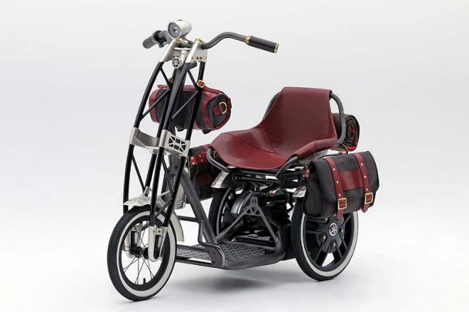 Yamaha 07GEN Concept: Xe ga điện cho quý ông - 4