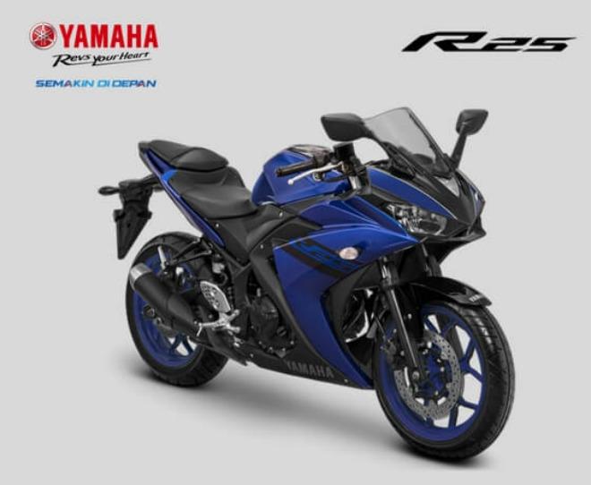 Yamaha YZF-R25 bản cập nhật lên kệ, giá 89,3 triệu đồng - 1