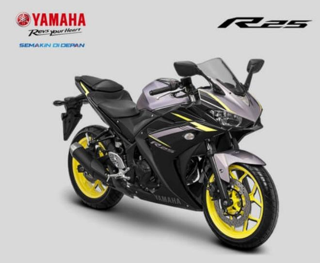 Yamaha YZF-R25 bản cập nhật lên kệ, giá 89,3 triệu đồng - 2