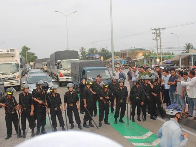 BOT Cai Lậy: 2 người bị tạm giữ