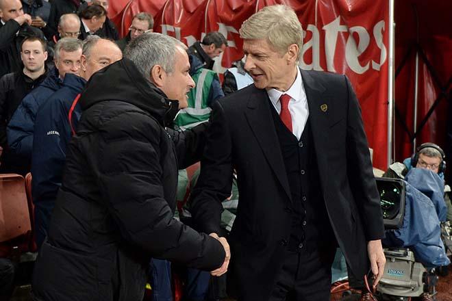 """MU đấu Arsenal: Mourinho ủ mưu """"Fergie time"""" để bắt nạt Wenger - 1"""
