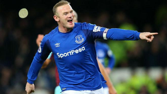 """Rooney hattrick thần sầu: David Moyes """"cạn lời"""", Everton mơ hồi sinh 1"""