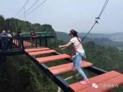 Du lịch - Thử độ liều với các trò chơi siêu mạo hiểm tại công viên tọa lạc trên núi cao