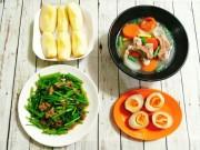 Ẩm thực - Cơm chiều sang chảnh với thực đơn toàn món ngon, cả nhà khen nức nở