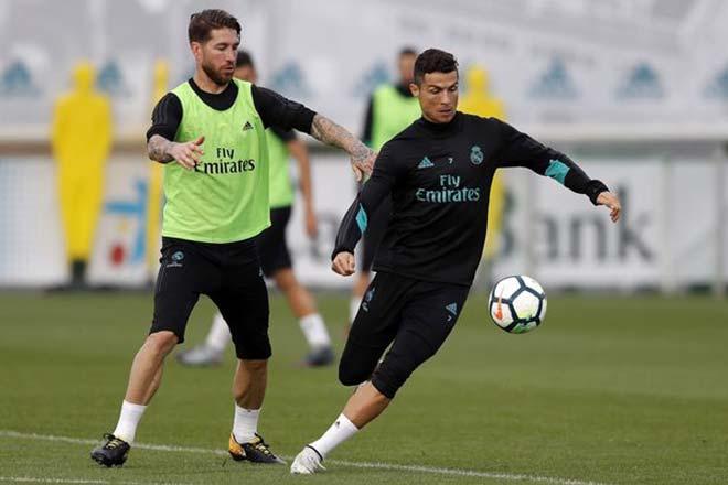 """Real lại dậy sóng ngầm: Ronaldo & """"cận vệ già"""" trong """"tâm bắn"""""""