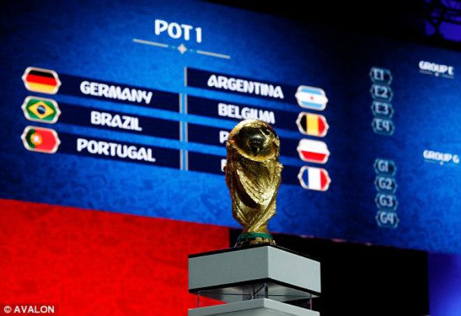 Bốc thăm World Cup 2018: Bồ Đào Nha đụng Tây Ban Nha, Đức - Brazil chung nhánh - 10
