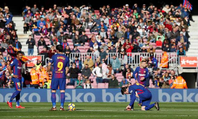 Barca 2 trận mất 2 bàn, 4 điểm: Âm mưu của La Liga lộ rõ? - 2