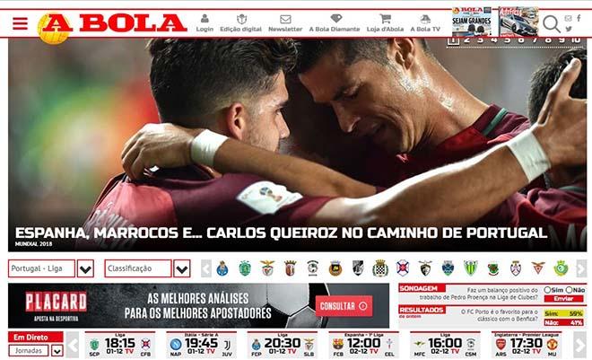 Bốc thăm World Cup: Báo Tây Ban Nha sợ Ronaldo, truyền thông Anh ngại Brazil 7