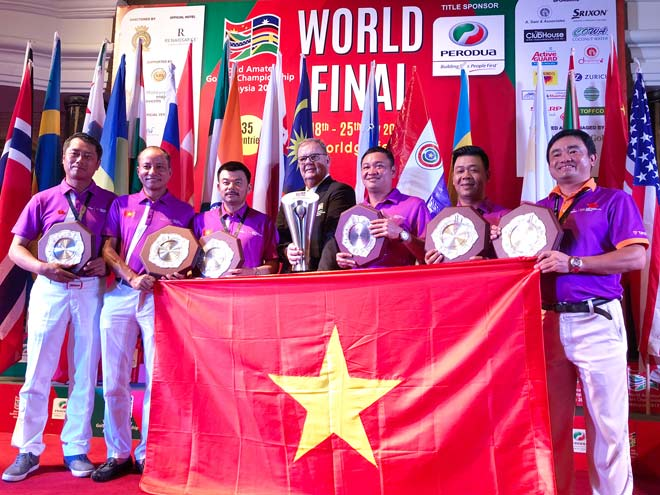"""Golfer nghiệp dư Việt Nam số 1 thế giới: Bước tiến """"chóng mặt ở giải WAGC 2"""