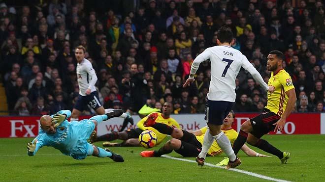 Watford - Tottenham: Thẻ đỏ oan nghiệt & người hùng châu Á 1