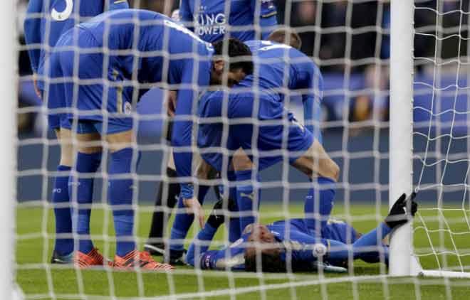 Leicester - Burnley: Lao vào cột vì bàn thắng 1