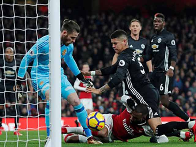"MU ""hủy diệt"" Arsenal: Đỉnh cao De Gea, Pogba dại dột 14"