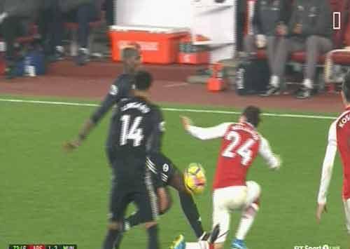 Chi tiết Arsenal - MU: Vô vọng 5 phút bù giờ (KT) 24