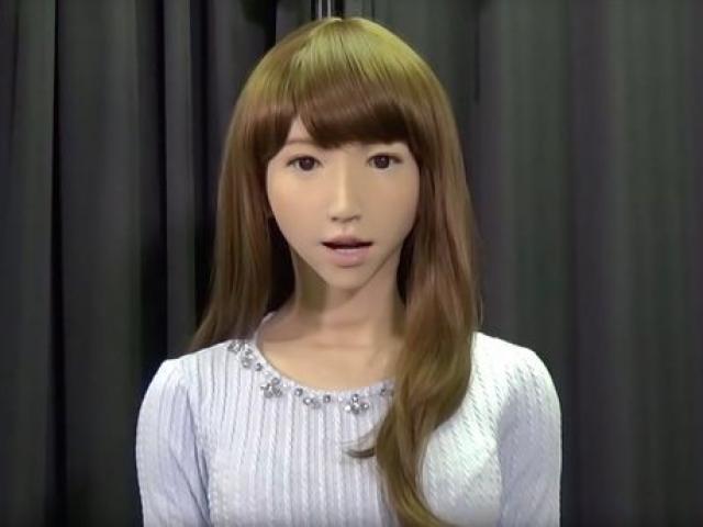 """Robot tình dục xinh đẹp """"giống người nhất thế giới"""""""