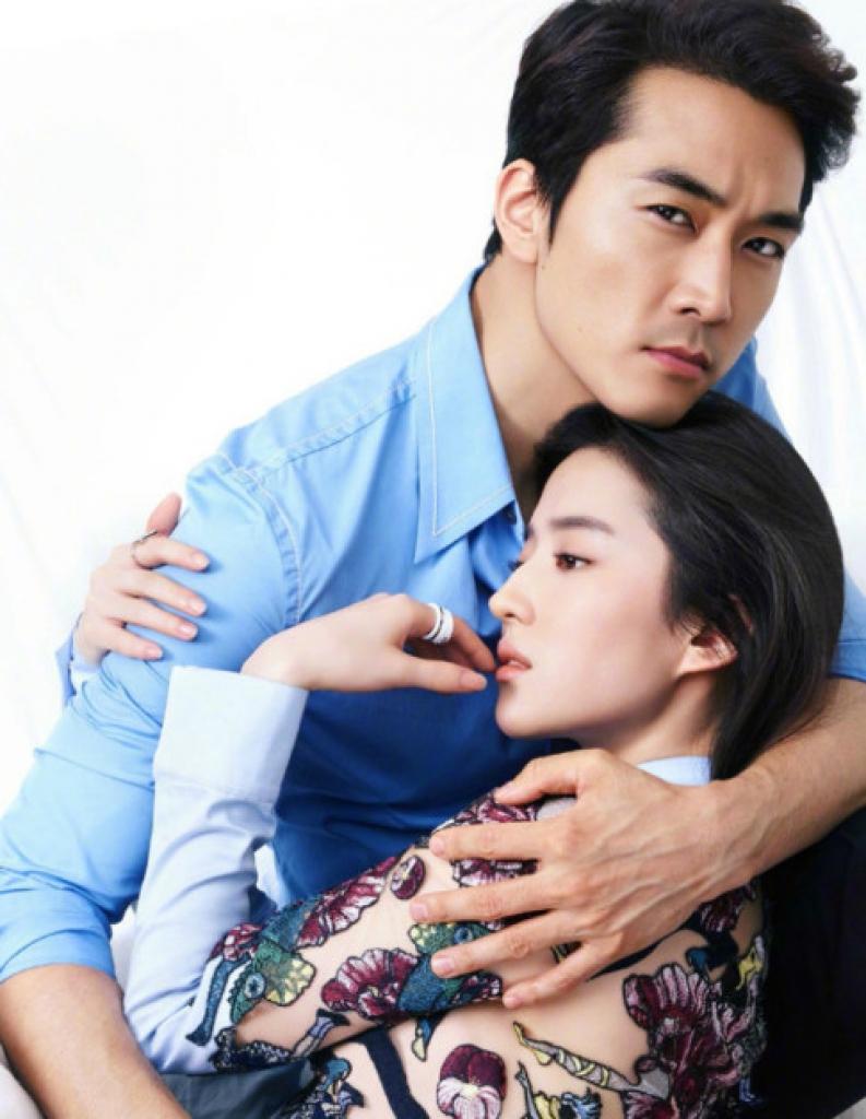 """Đóng """"Hoa Mộc Lan"""", Lưu Diệc Phi lộ bằng chứng đã chia tay Song Seung Heon - 3"""