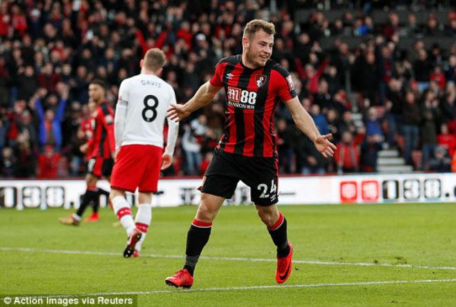 Bournemouth - Southampton: Rượt đuổi ấn tượng, gay cấn phút cuối 1