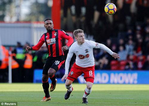 Chi tiết Bournemouth - Southampton: Cựu sao Chelsea suýt là người hùng (KT) 19