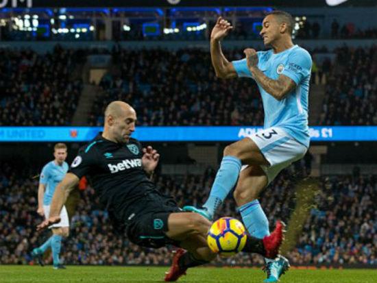 """Chi tiết Man City - West Ham: Những phút cuối """"thót tim"""" (KT) 20"""