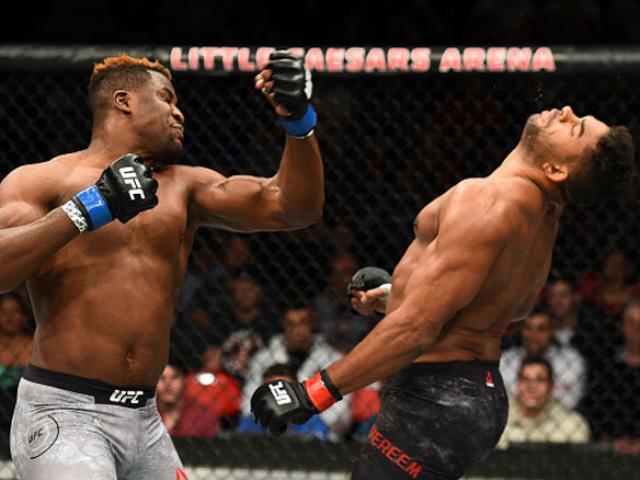Người đẹp UFC gặp sự cố hi hữu vì đấm quá hăng 5