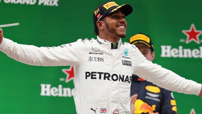 Đua xe F1 2017 và những cái nhất: Huyền thoại Hamilton - Mercedes 1