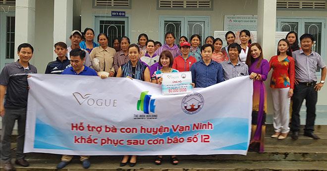"""""""Vogue Hotel & Resort  - Chung tay giúp đỡ đồng bào chịu thiệt hại sau bão"""" - 2"""