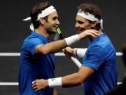 """Thể thao - Tennis 24/7: """"Đá cặp"""" ăn ý, Federer và Nadal dễ nhận """"Oscar thể thao"""""""