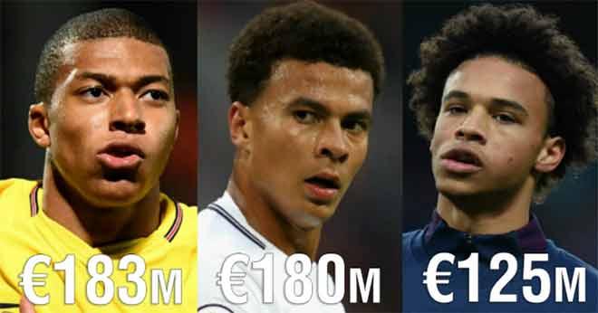 Tin HOT bóng đá trưa 5/12: Mbappe đắt giá nhất lứa tuổi U21 1