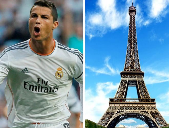 Ronaldo nhắm siêu kỉ lục cúp C1 vượt Messi, nhận QBV trên... tháp Eiffel 2