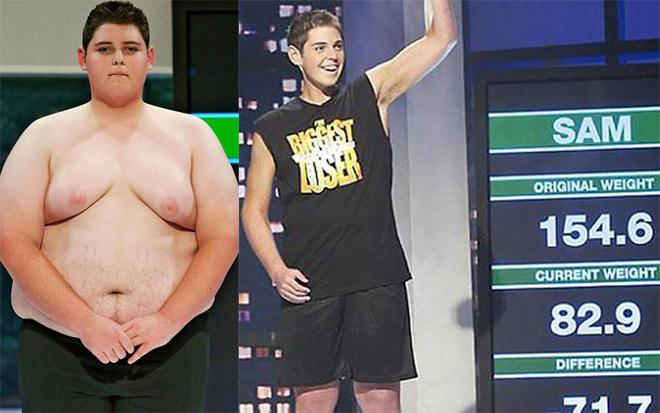 """Bái phục: Gã béo 154 kg """"lột xác"""" thành nam thần """"6 múi"""" tuyệt đẹp 1"""