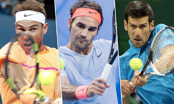 Đua số 1 tennis 2018: Nadal, Federer khó cản