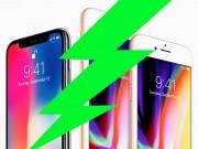 Thời trang Hi-tech - NÓNG: iPhone 8 và iPhone X sạc nhanh kém hơn đối thủ Android cao cấp