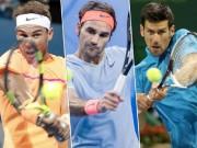 """Thể thao - Đua số 1 tennis 2018: Nadal, Federer khó cản """"Vua Djokovic"""""""
