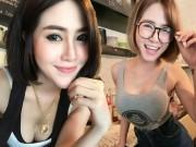 Bạn trẻ - Cuộc sống - Xôn xao quán cà phê toàn hot girl ngực khủng ở Thái Lan