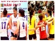 Thể thao - Bóng chuyền nữ: Đội Thanh Thúy hạ đẹp hoa khôi Linh Chi